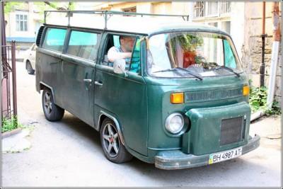 VW с двигателем от Москвича. :-  - IMG_4371.jpg