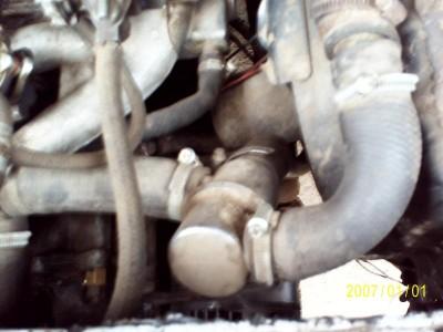 VW с двигателем от Москвича. :-  - PIC_0269.JPG