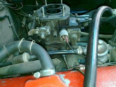 VW с двигателем от Москвича. :-  - карбюратор.JPG