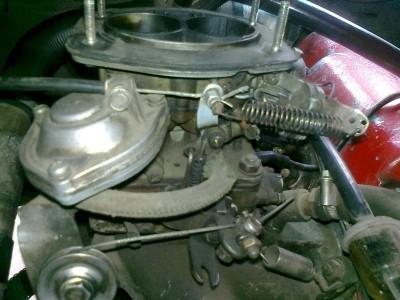VW с двигателем от Москвича. :-  - карбюратор..JPG
