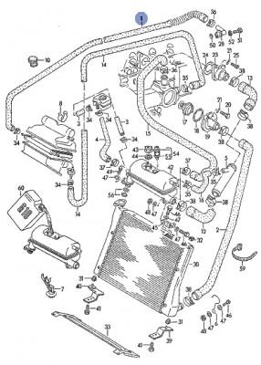Volkswagen LT 28, 1982 год, Бусик . - Система охлаждения ЛТ.jpg