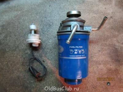 Насос подкачка с фильтром сепаратором. Штатная пробка с датчиком присутствия воды - IMG_0197.JPG